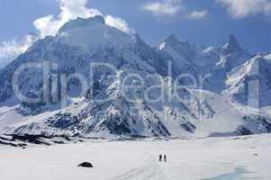 Glacier Mer de Glace Haute-Savoie F