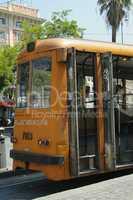 Old tram in Rome