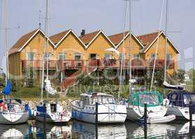 Danish yacht habour