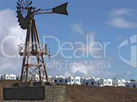 Wind Wheel on Lanzarote