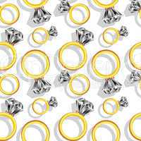 diamond rings pattern