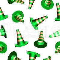 traffic cones texture