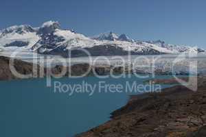 Viewpoint over Upsala Glacier