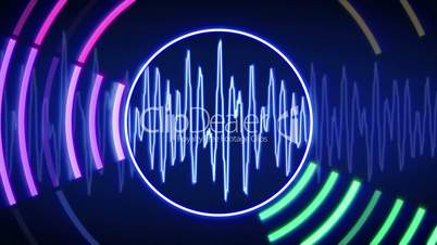 waveform technology loopable animation