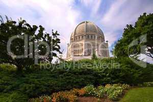 The Baha'i House of Worship - Illin