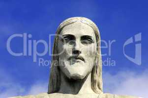 Head, Statue of Christ the Redeemer