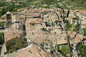 Roofs of Moustier Sante Marie