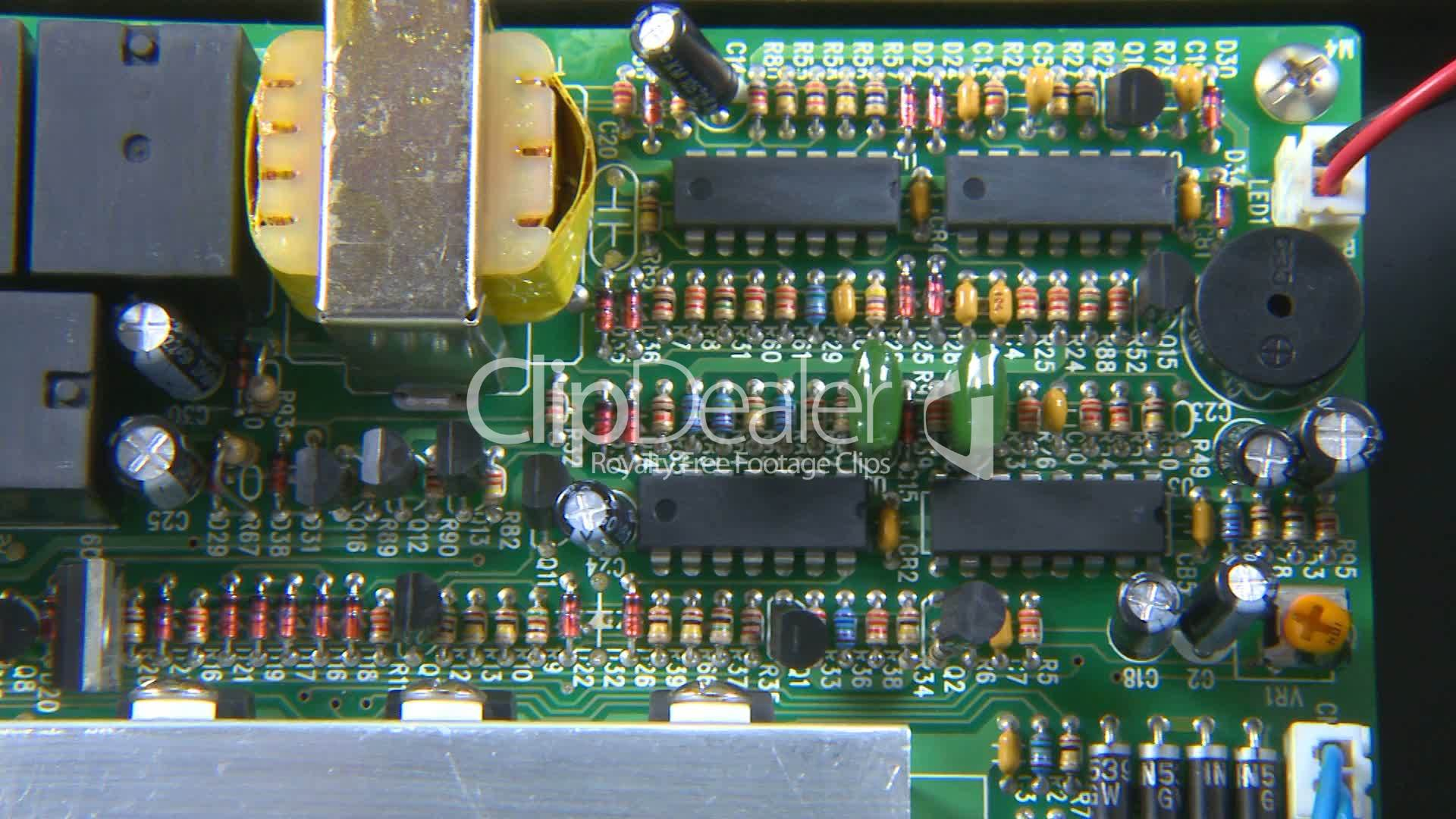 Electronic Circuit Board Royalty Free Video And Stock Footage Boards