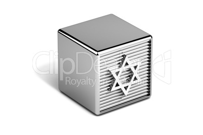 Star of David Judaism symbol on toy
