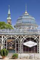 The glass building in Tivoli Copenh