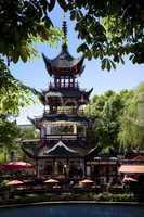 The Chinese Tower in Tivoli Copenha