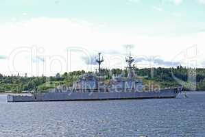 Mothballed Navy ship
