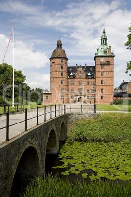 Vallo castle in Denmark