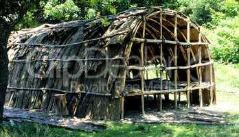 Hobbamock Indian Hut