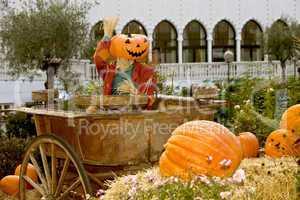 Halloween dressed Tivoli Copenhagen