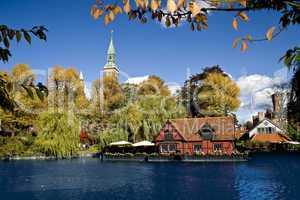 Autumn in Tivoli Copenhagen