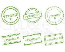 Vitamin C Stempel