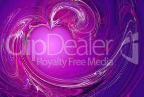Purple Love Flow