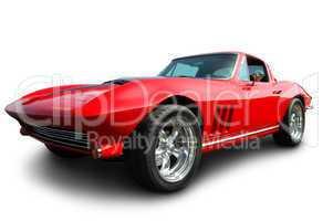 Classic American Sports Car