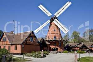 Historic Windmill in dutch style
