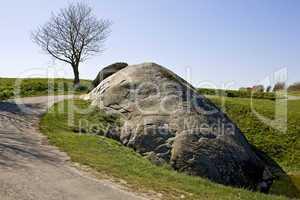 Dammestenen at Hesselager, Funen, D