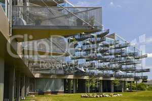 Modern apartment house in Copenhagen