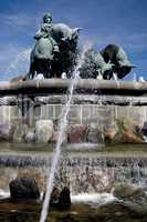 The Gefion fountain at Langelinie Copenhagen
