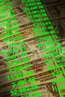 Banknotes of various dollar denomin
