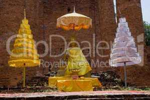 Buddha image in Ayutthaya, Thailand