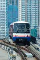Sky-Train in Bangkok