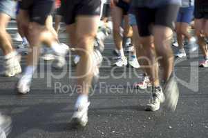 Runners' feet, Escalade, Geneva, Sw