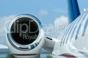 Engine of business jet