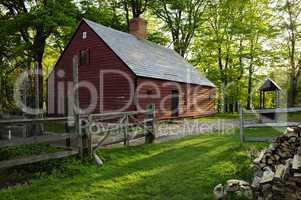 Wick Farmhouse in Jockey Hollow