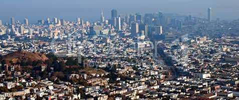 San Francisco Cityscape Panorama