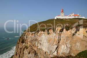 Portugal, Sintra, lighthouse of Cabo Da Roca