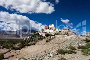 kloster in leh, indien