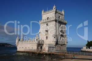 Portugal, Lisbon, Tower of Belem (Torre de Belem)