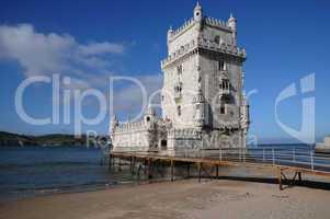 Portugal, Lisbon, Tower of Belem (Torre de Belem)