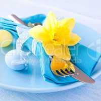 Ostertisch / easter table setting