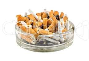 Cigarettes in an ashtray