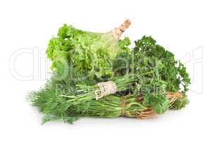 Parsley and other green