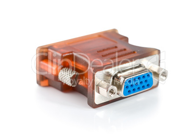 Monitor connector