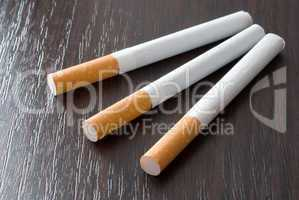 Cigarettes on the table