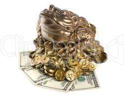 Moneybox isolated