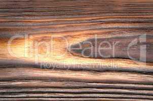 Old, grunge brown wood panel