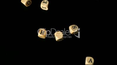 Mothers day dice falling together