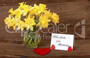 Liebe Grüße zum Muttertag - Dear greetings for Mothers Day