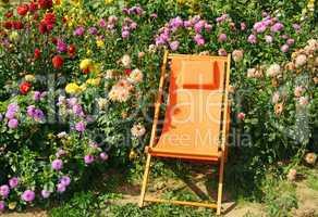 Erholung im Garten - Relax in the Garden