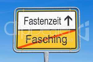 Fasching und Fastenzeit