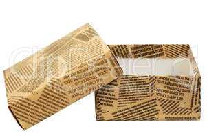 "Gift box ""Old Newspaper"""